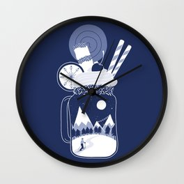 Whipped Cream Day Wall Clock