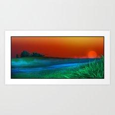 Caladan Meadow Art Print