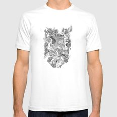 The Six Swans Mens Fitted Tee White SMALL