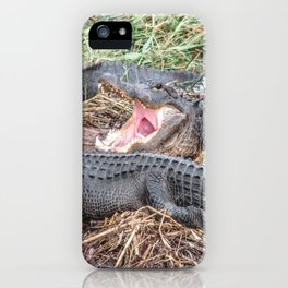 Say Aahhh Right iPhone Case