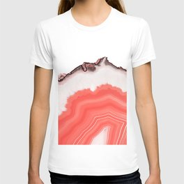 Living Coral Agate T-shirt