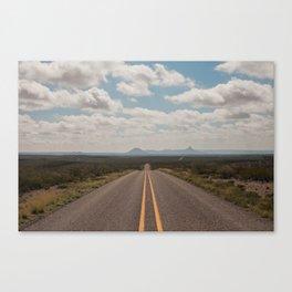 West Texas Highway Canvas Print
