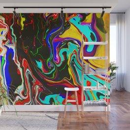 Cosmic Paint Job Wall Mural