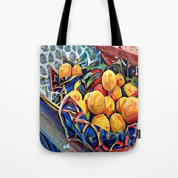 LEMON ZEST Tote Bag