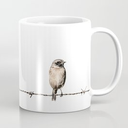 Hanging in the wire Coffee Mug