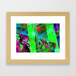 The Lady in the Window Framed Art Print