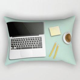 workplace Rectangular Pillow