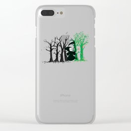 The hills WERE alive Clear iPhone Case