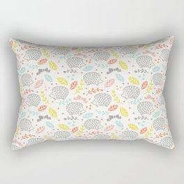Hedgehogs Rectangular Pillow