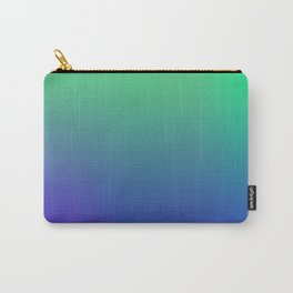 Green Blues Carry-All Pouch