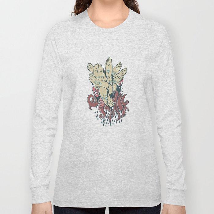hands! print Long Sleeve T-shirt