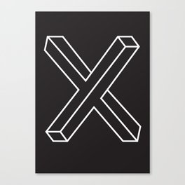 The X Canvas Print