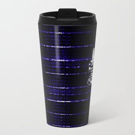 Blue 22 Metal Travel Mug