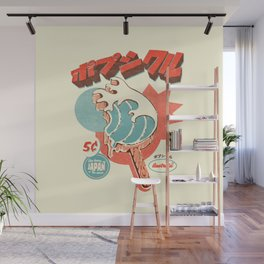 Great Wave Ice Pop Wall Mural