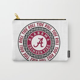Alabama University Roll Tide Crimson Tide Carry-All Pouch