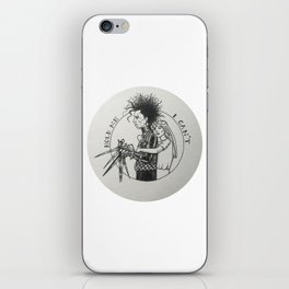 Hold me // I can't (Edward Scissorhands & Kim Boggs) iPhone Skin