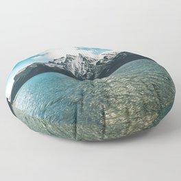 Lake Minnewanka II Floor Pillow