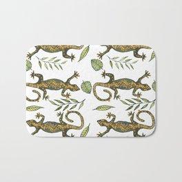 Lady Gecko Bath Mat