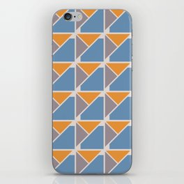 Retro Geometry surface pattern iPhone Skin