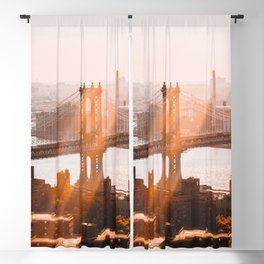 New York at 9 AM Blackout Curtain