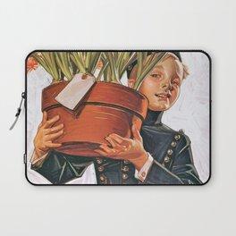 12,000pixel-500dpi - Joseph Christian Leyendecker - Bell Boy With Hyacinth - Digital Remastered Laptop Sleeve