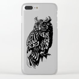 Owl 2.0 Clear iPhone Case