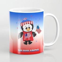 USA Penguin Coffee Mug