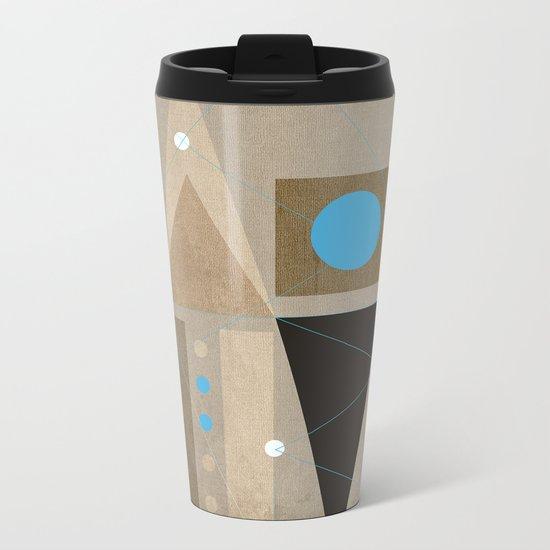 Geometric/Abstract 7 Metal Travel Mug