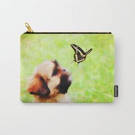 Watching Butterflies Carry-All Pouch
