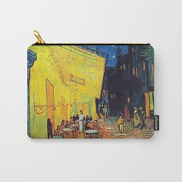 Vincent Van Gogh - Cafe Terrace at Night (new color edit) Carry-All Pouch
