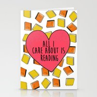 reading Stationery Cards featuring reading by Synne Vestvik