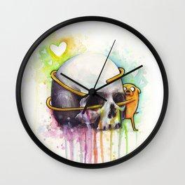 Jake and Skull Wall Clock