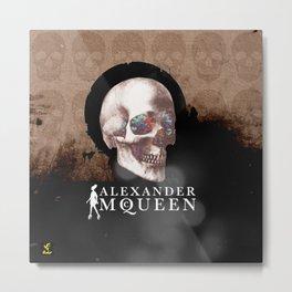 ALEXANDER MCQUEEN Metal Print