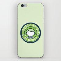 john green iPhone & iPod Skins featuring Cute John Watson - Green by mydeardear