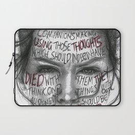 Lady Macbeth Laptop Sleeve
