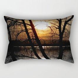 Departing Colors Rectangular Pillow