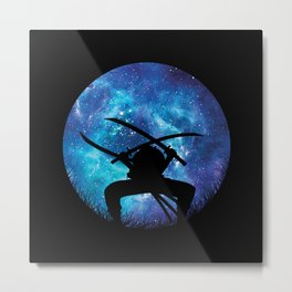 Zoro Silhouette Hunter Metal Print