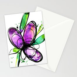 Ecstasy Bloom 10 by Kathy Morton Stanion Stationery Cards