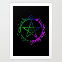 Pentacle Art Print