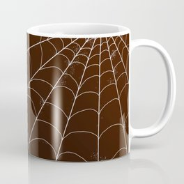 Spiderweb on Spice Coffee Mug