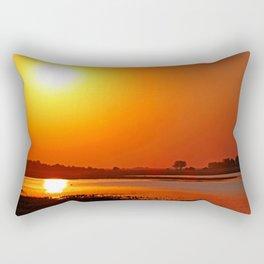 Evening at Chobe river, Botswana Rectangular Pillow