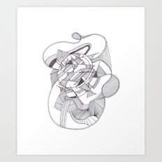 By Design 3 Art Print