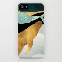 Whale Song iPhone Case