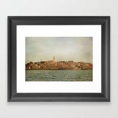 Jaffa from the Sea Framed Art Print