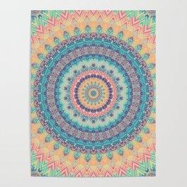 Mandala 350 Poster