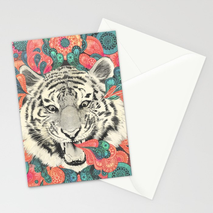 bengal mandala Stationery Cards