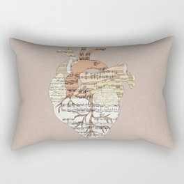 Sound Of My Heart Rectangular Pillow