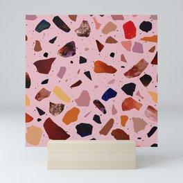 Terrazzo Rosé Mini Art Print