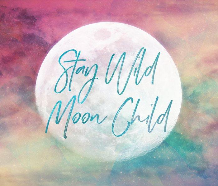 Stay Wild Moon Child Metal Travel Mug