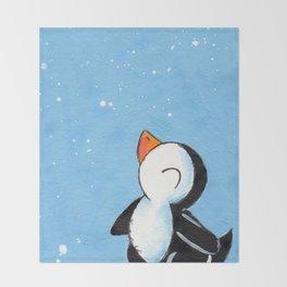 Flakey Flurry Throw Blanket